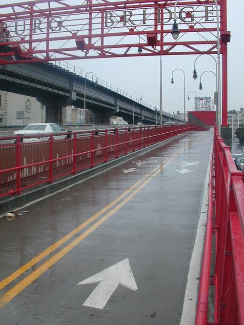 Williamsburg Bridge, northside path