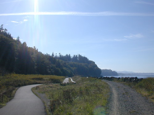 05 - Trail approaching Port Angeles